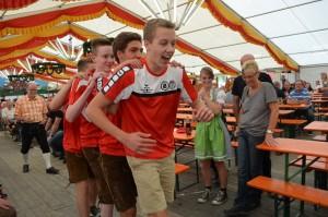Ortenburger Volksfest-bayerischer Vierkampf